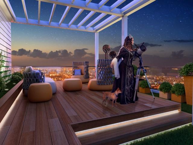 Penthouse with 4 bedrooms in Limassol, Agios Nektarios