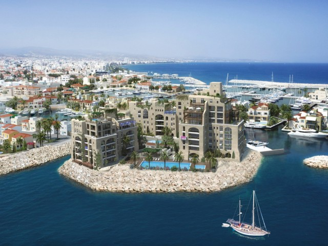 Four bedroom apartment in Limassol, Limassol Marina