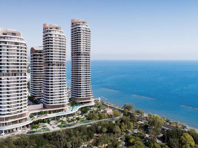 Apartment in Limassol with 2 bedrooms, City Center