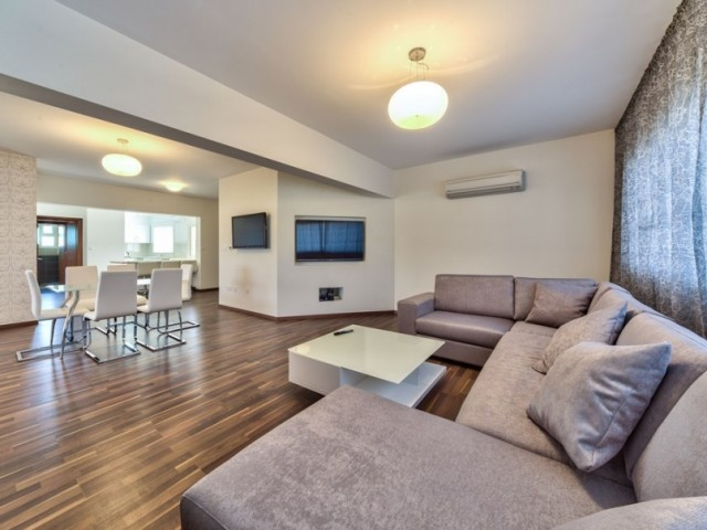 Three bedroom penthouse in Limassol, Potamos Germasogeia