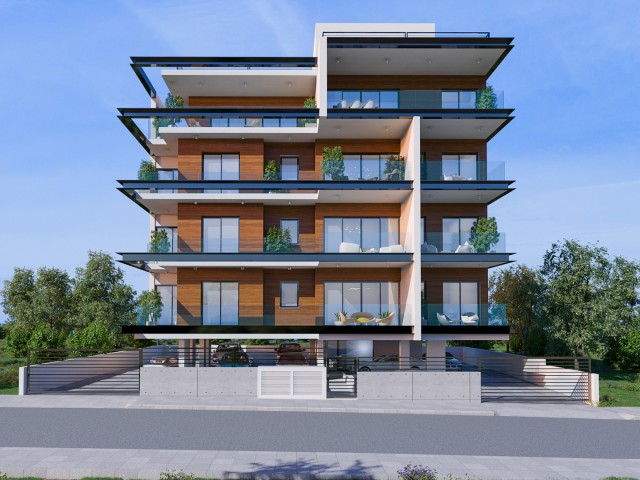 Building with apartments in Limassol, City Center