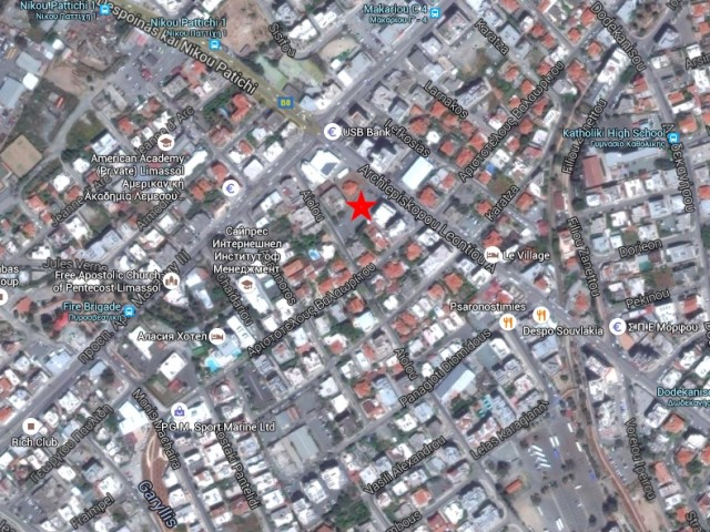 Plot in the center of Limassol, City Center
