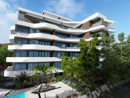 Penthouse in Limassol with 4 bedrooms, Potamos Germasogeia