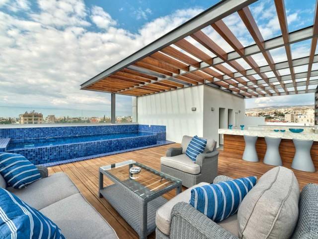 Three bedroom penthouse in Paphos, Kato Paphos