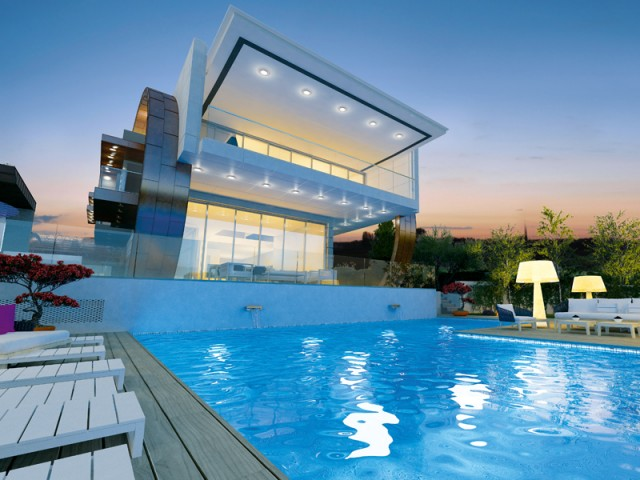 Six bedroom luxury villa in Limassol, Germasogea