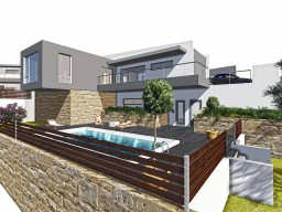 Three bedroom villa in Paphos, Tsada