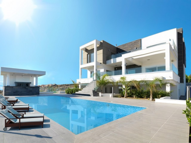 Five bedroom luxury villa in Limassol, Germasogeia