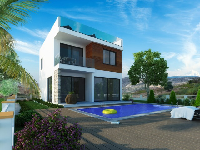 Villa in Paphos with 3 bedrooms, Chloraka